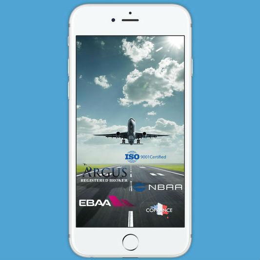 AVIA APP - приложение для аренды частного самолета c экипажем онлайн.
