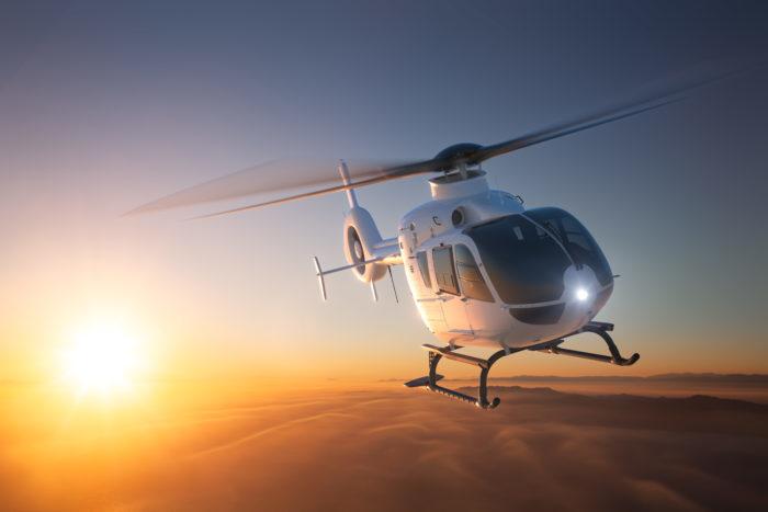 До вертолета рукой подать