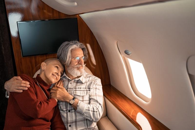 Частные самолеты класса люкс: поднимите настроение во время полета